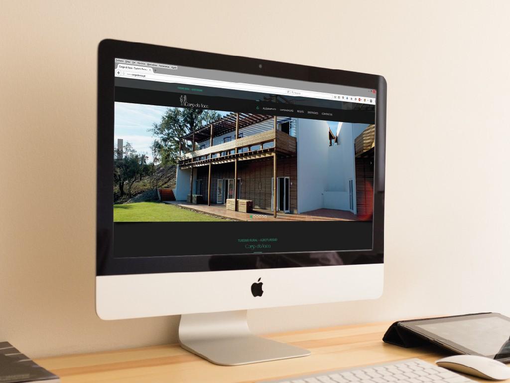 Corgo da Vaca - Web design